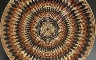 Large Basket Illusion Platter