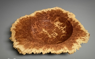 Red Mallee Winged Bowl