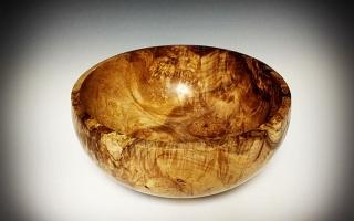 Maple Burl Calabash
