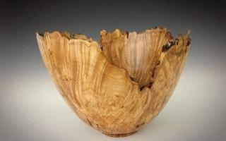 Maple Burl Large Bowl