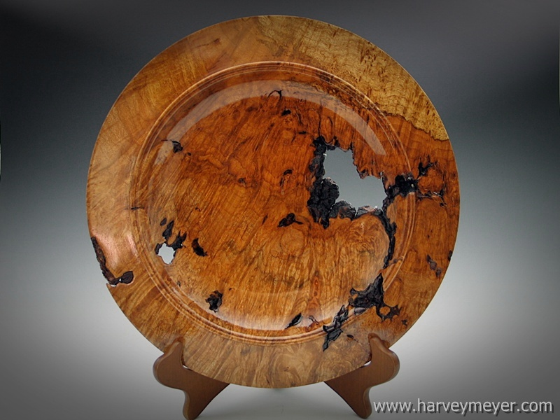 Maple Burl Platter #1