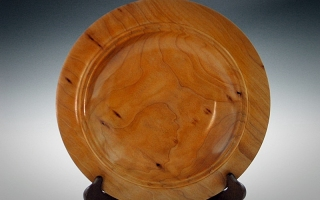 Quilted Maple Platter